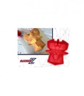 Cara Mazinger Z molde para horno silicona