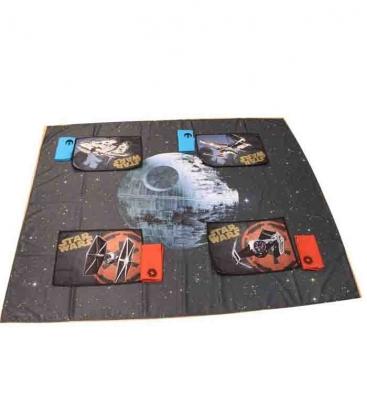 Estrella de la Muerte set mantel, 4 salvamanteles y servilletas Star Wars
