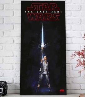 Rey sable póster de vidrio 30x60 Star Wars EP VIII