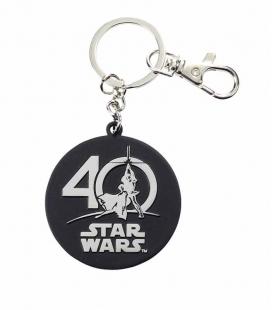 Logo 40 Aniversario llavero metal Star Wars Edición Limitada