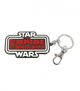 Logo The Empire Strikes Back llavero mosquetón Star Wars
