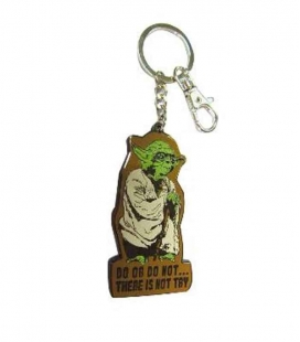Yoda llavero mosquetón Star Wars