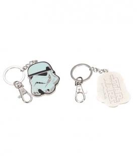 Casco stormtrooper llavero metal Star Wars