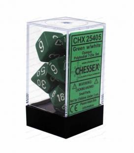 Bolsa para dados pequeña Chessex. Color Verde
