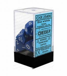 Bolsa para dados pequeña Chessex. Color Gris