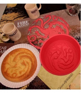 Targaryen Molde Horno Silicona Game of Thrones