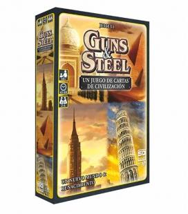 Guns & Steel - Juego de cartas SD GAMES en español