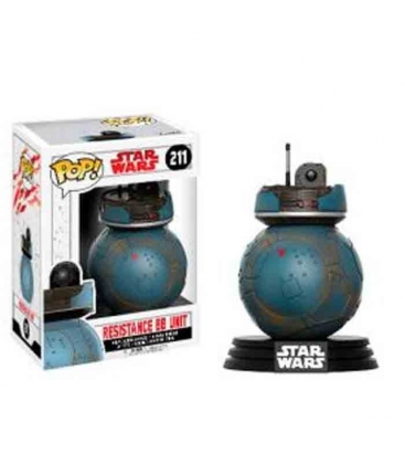 Funko POP! 211 Episode VIII The Last Jedi Resistance BB Unit Exclusive - Star Wars