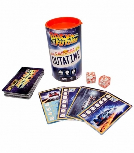 Back to the Future OUTATIME El juego de dados SD GAMES