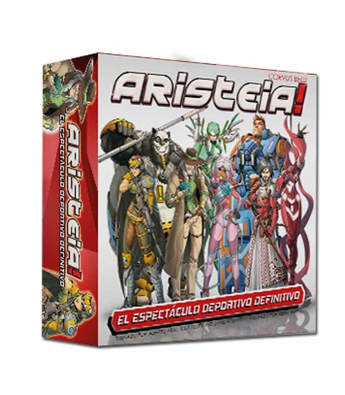 Aristeia! Core español - Juego de mesa con miniaturas Corvus Belli