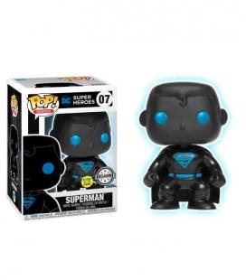 Funko POP! 07 Justice League Superman Silhouette Exclusive - DC Comics