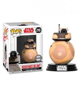 Funko POP! 210 Star Wars VIII The Last Jedi Resistance BB Unit Exclusive