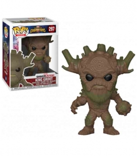 Funko POP! 297 King Groot - Marvel Contest of Champions