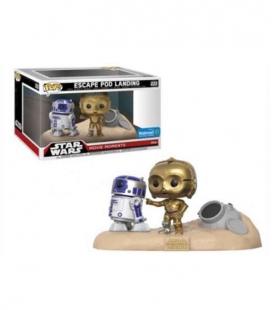 Funko POP! 222 Movie Moments: R2-D2 & C-3PO Desert - Star Wars
