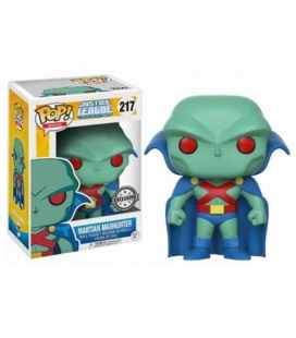 Funko POP! 217 Martian Manhunter - Justice League Animated