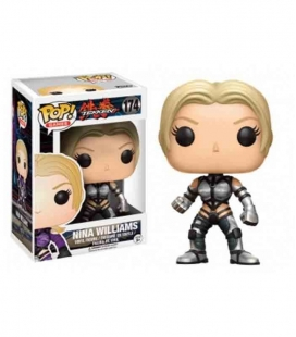 Funko POP! 174 Nina Williams Silver Suit - Tekken