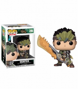 Funko POP! 296 Male Hunter - Monster Hunter