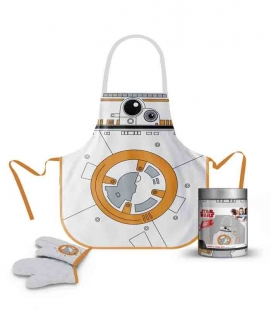 BB-8 Delantal y manopla tarro cristal Star Wars