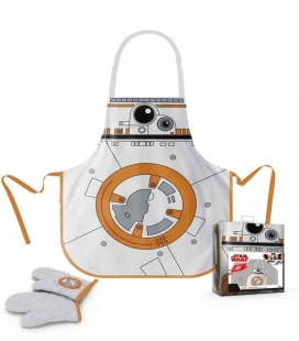 BB-8 Delantal y manopla pack transparente Star Wars