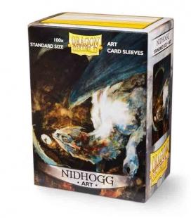 Fundas Standard Dragon Shield Nidhogg - Paquete de 100