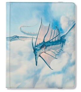 Dragon Shield Card Codex 360 Strata Portfolio Dragon Shield. Para 360 cartas con doble funda.