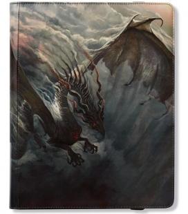 Dragon Shield Card Codex 360 Fuligo Portfolio Dragon Shield. Para 360 cartas con doble funda.