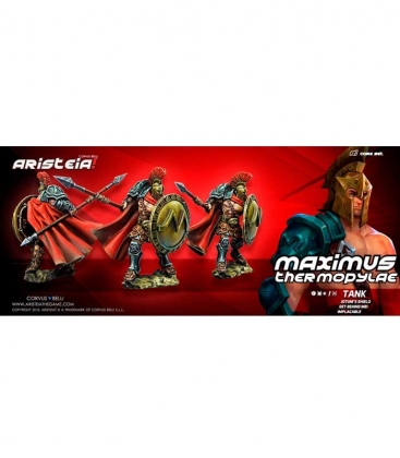 Aristeia! Maximus Thermopylae - Aristo miniatura Corvus Belli