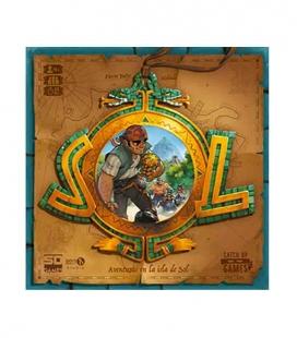 Sol - Aventuras en la isla del Sol - Juego de mesa SD GAMES