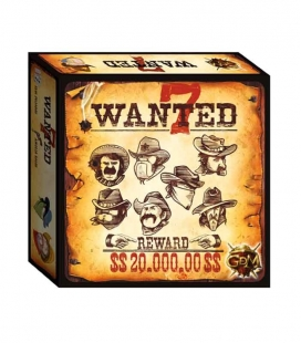 Wanted 7 - Juego de mesa GDM Games