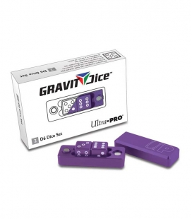 Dados D6 - 2 Dice Set Gravity Dice - Royal