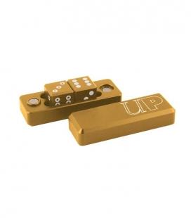 Dados D6 - 2 Dice Set Gravity Dice - Gold
