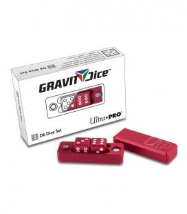 Dados D6 - 2 Dice Set Gravity Dice - Crimson