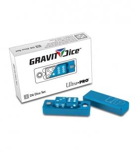 Dados D6 - 2 Dice Set Gravity Dice - Cobalt