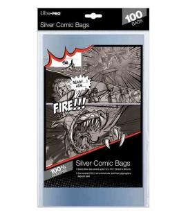 "Bolsa para cómics Silver Size 7-1/4"" X 10-1/2"" Ultra Pro"