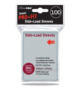 Fundas Pro FitSmall  Side Load de carga lateral Ultra Pro - Paquete de 100