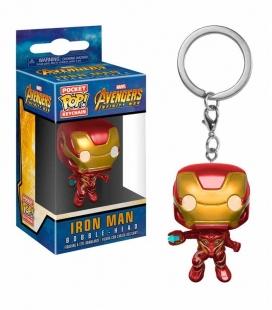 Funko Keychain de Iron Man Infinity War Marvel. Llavero