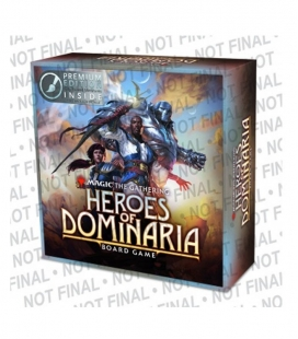Heroes of Dominaria Board Game Premium Edition Magic the Gathering en inglés