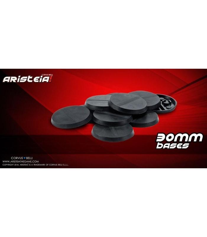 Aristeia! Bases de 30mm Corvus Belli