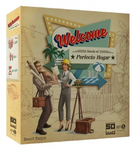 Welcome Hacie el Perfecto Hogar - Juego de mesa SD GAMES