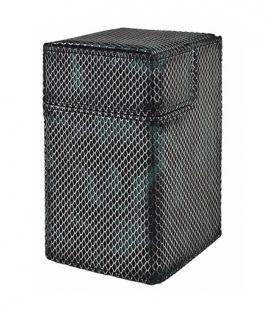 Caja de mazo Deck Box M2 Limited Edition Camo Mesh Ultra Pro. Color Gris