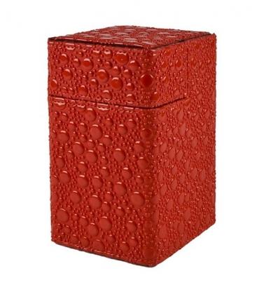 Caja de mazo Deck Box M2 Limited Goblin Hide Ultra Pro. Color Rojo