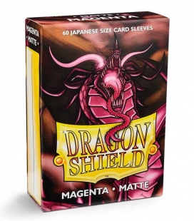 Fundas Small Dragon Shield Matte Magenta - Paquete de 60