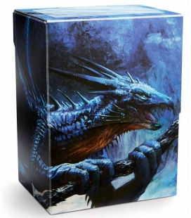 Caja de mazo Royenna Sapphire Dragon Shield Deck Shell Edición Limitada