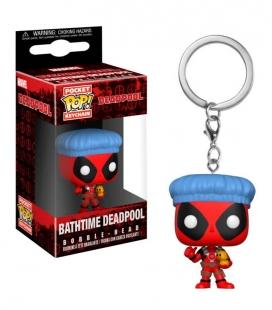 Funko Keychain de Bathtime Deadpool. Llavero