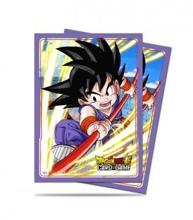 Fundas Standard  Explosive Spirit Son Goku Dragon Ball - Paquete de 65