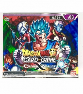 Dragon Ball Super Card Game Caja de sobres Cross Worlds Inglés