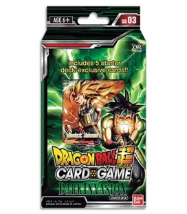 Dragon Ball Super Card Game Starter Deck Display Dark Invasion Inglés