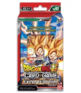 Dragon Ball Super Card Game Starter Deck Display Extreme Evolution Inglés