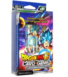 Dragon Ball Super Card Game Starter Deck Display The Awakening Inglés