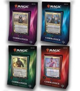 Display de cuatro mazos Commander 2018 Inglés - Magic